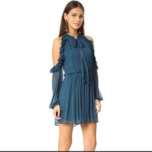 Free People You and I Cold Shoulder Mini Dress